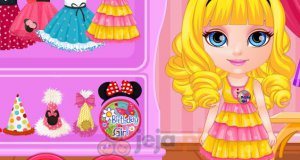 Piniata na urodziny małej Barbie