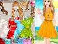Koronkowe sukienki Barbie
