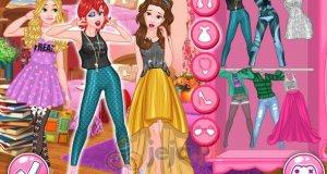 Księżniczki Disneya i szkolna impreza