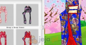 Piękne kimona