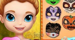 Halloweenowa maska Zofii