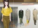 Wojskowy wygląd