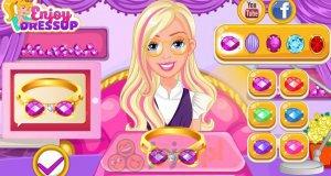 Barbie i sklep z biżuterią
