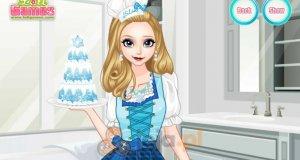 Elsa i lodowy tort