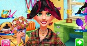 Jessie u fryzjera