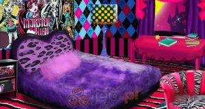 Pokój w stylu Monsterki