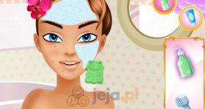 Olśniewający makijaż