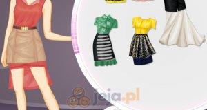Sukienka a na niej spódniczka