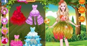 Barbie i kwiatowe przyjęcie