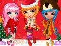Dziewczyny i świąteczne życzenia