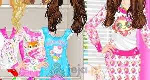 Słodkie piżamki Barbie