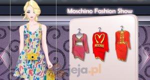 Pokaz domu mody Moschino
