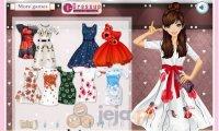 Suknia w maki