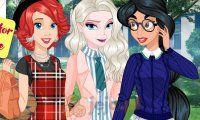 Księżniczki idą na uczelnię