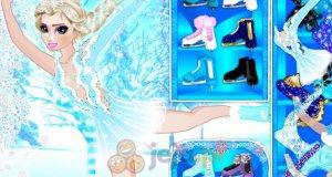 Elsa na lodzie