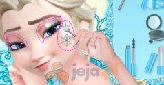 Ślubny makijaż Elsy