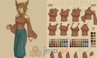 Kreator postaci: Kobieta-wiking