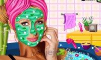 Imprezowy makijaż Paris Hilton