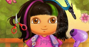 Zwariowana fryzura Dory