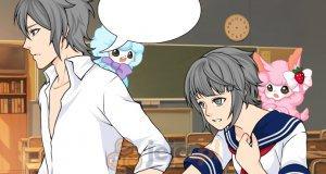 Bohaterowie mangi w szkole 9