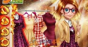 Jesienna moda księżniczek