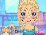 Elsa z tatuażem na twarzy