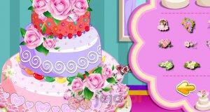 Strojenie tortu weselnego