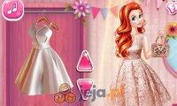 Księżniczki i pokaz mody ślubnej