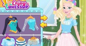 Księżniczki i wymiana ubrań