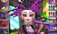 Raven Queen u fryzjera