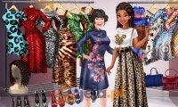 Księżniczki i etniczne wzory