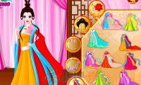Chińska księżniczka w salonie piękności
