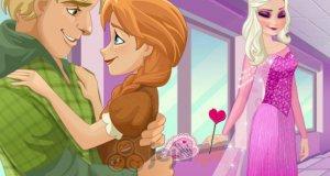 Elsa bawi się w kupidyna