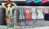 Sukienki we wzory
