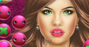 Makijaż pięknej dziewczyny