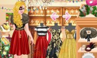 Księżniczki i świąteczny pokaz mody