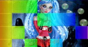 Kwadratowe puzzle Monster High