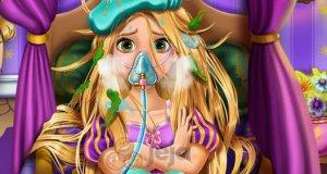 Roszpunka ma grypę