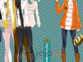 Nastolatka w bluzie