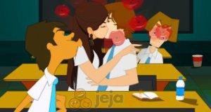 Romantyczne pocałunki Miley