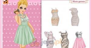 Perłowe suknie