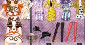 Sukienki z z nadrukami
