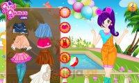 Kolorowe ubrania anime