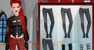 Pokaz mody gotyckiej