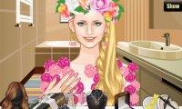 Kwiatowy makijaż