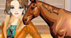 Nastolatka i jej koń