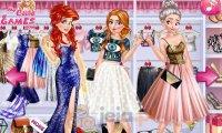 Księżniczki i błyszczące przyjęcie