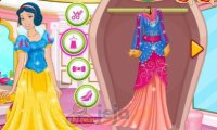 Barbie jako księżniczka Disneya
