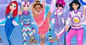 Księżniczki i zimowe igrzyska olimpijskie