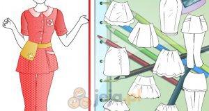 Projektowanie - Strój pielęgniarki